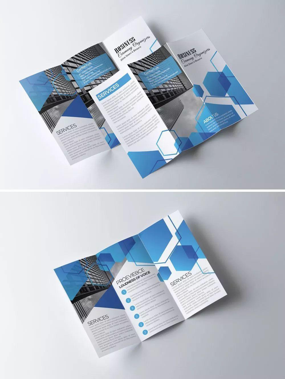 国外三折页设计欣赏第二期