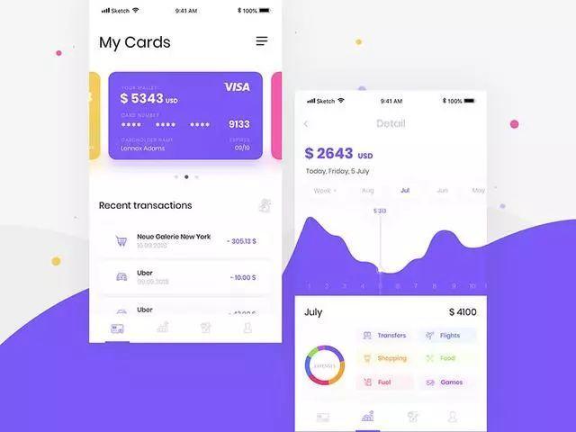 银行APP卡券界面设计,即好看又实用